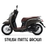 Warna All New Honda Scoopy Stylish Matte Brown