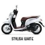 Warna All New Honda Scoopy Stylish White