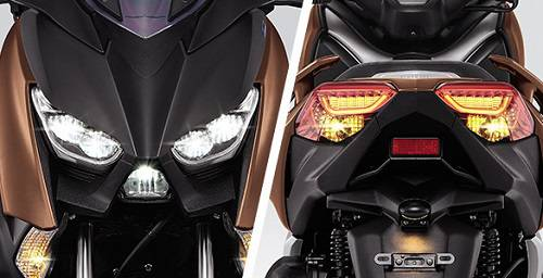 LED HEAD & TAIL LIGHT WITH DRL