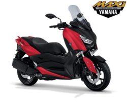 Warna Yamaha XMAX 250 Merah
