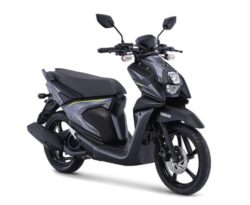 Warna Yamaha X-Ride 125 Hitam