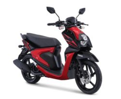 Warna Yamaha X-Ride 125 Merah