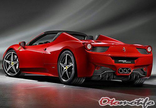 Harga Ferrari 458 Spider
