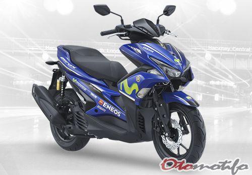 Harga Yamaha Aerox 155 Movistar