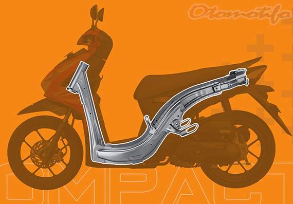 Rangka Honda Beat 2020