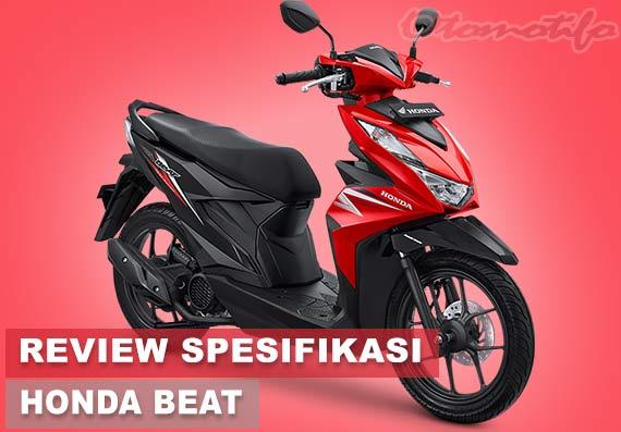 Spesifikasi dan Harga All New Honda Beat