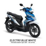 Warna Honda Beat Blue White