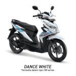 Warna Honda Beat Dance White