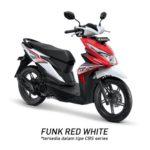 Warna Honda Beat Funk Red White