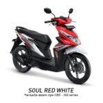 Warna Honda Beat Red White