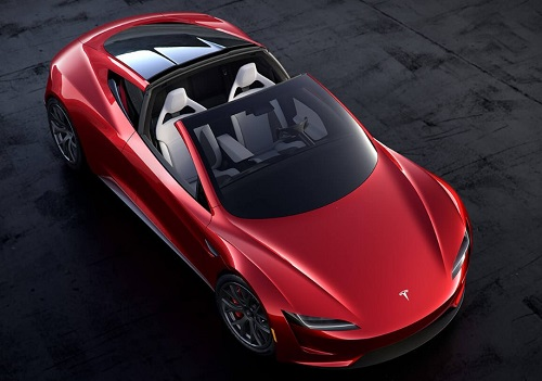 Gambar Tesla Roadster