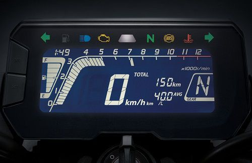 Fitur Honda CB150R ExMotion 4