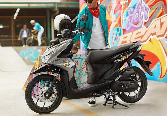 Gambar Honda Beat Street 2020