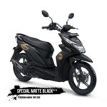 Warna Honda Beat Street Matte Black