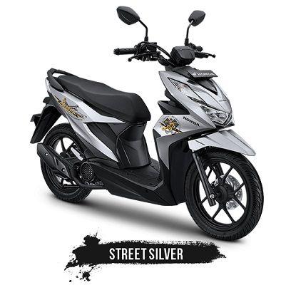 Warna Honda Beat Street Silver