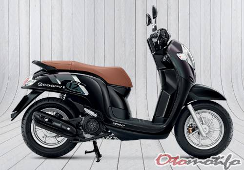 Gambar All New Honda Scoopy