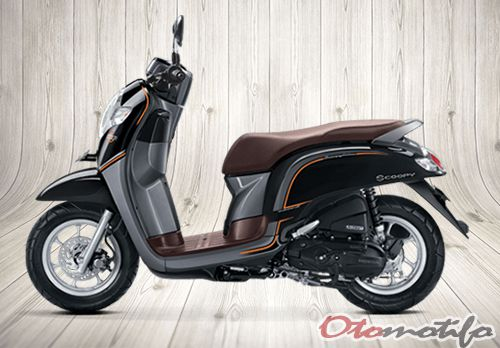 Gambar Motor All New Honda Scoopy