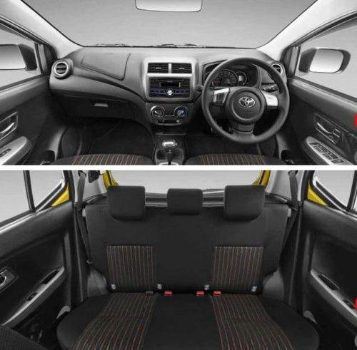 Interior Mobil Agya
