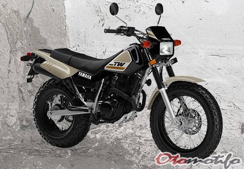 Motor Trail YamahaTW200