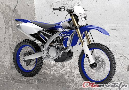 Motor Trail Yamaha WR450F