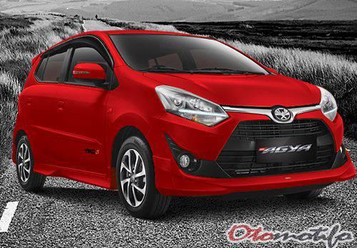 New Toyota Agya1.2 TRD