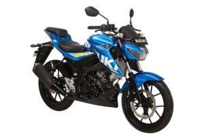 Suzuki GSX S150 Metallic Triton Blue