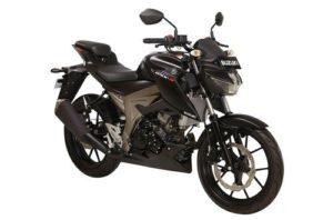 Suzuki GSX S150 Solid Black