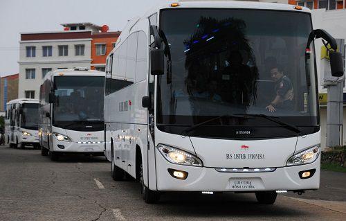 Bus Listrik Ahmadi