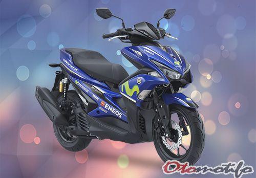 Gambar Yamaha Aerox 155 2018 MotoGP