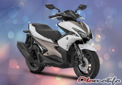 Gambar Yamaha Aerox 155 2018 S Version Putih