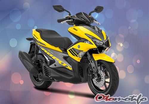 Gambar Yamaha Aerox 155 2018 Standar Kuning