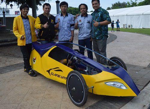 Mobil Listrik Si Elang