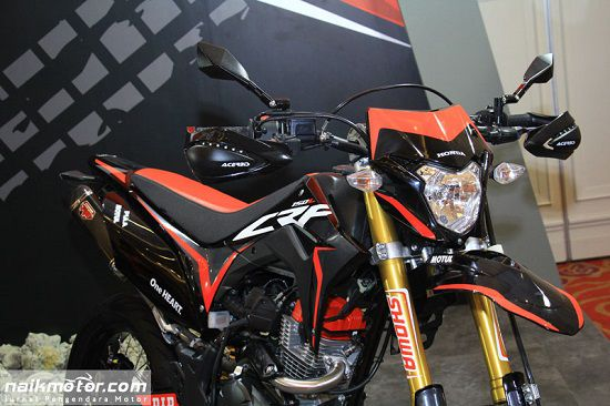 Modifikasi Honda CRF150L Supermoto 2