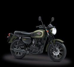 Warna Kawasaki W175 Hijau