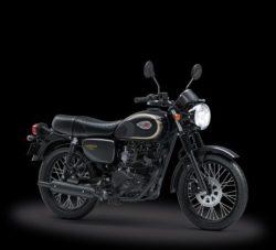 Warna Kawasaki W175 Hitam