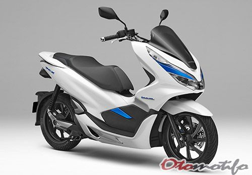 All New Honda PCX Electric