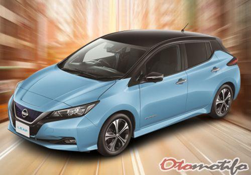 Gambar Nissan Leaf 2018