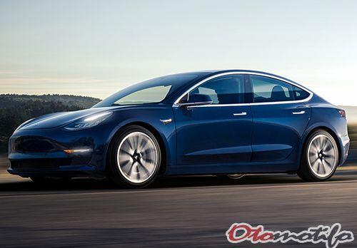 Gambar Tesla Model 3
