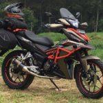 Modifikasi Motor Honda Supra GTR 150
