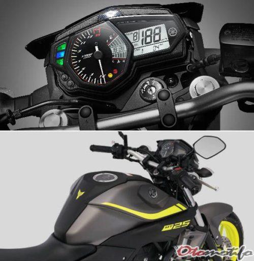 Spesifikasi Yamaha MT 25