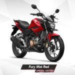 Warna All New Honda CB150R Fury Mat Red
