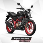 Warna All New Honda CB150R Raptor Mat Black