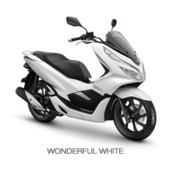 Warna Honda PCX 150 Putih
