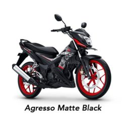 Warna Honda Sonic Agresso Matte Black