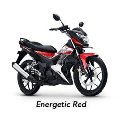 Warna Honda Sonic Energetic Red