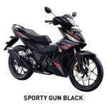 Warna Honda Supra GTR 150 Gun Black