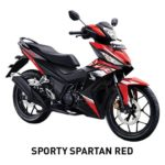 Warna Honda Supra GTR 150 Spartan Red