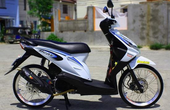 Foto Modifikasi Honda Beat Thailook