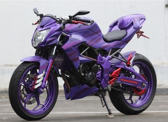 Gambar Modifikasi Kawasaki Z250SL