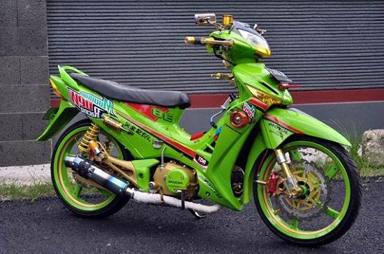 Honda Supra X 125 Modifikasi